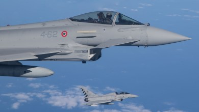 Photo of Decollo su allarme per due Eurofighter dell'Aeronautica Militare