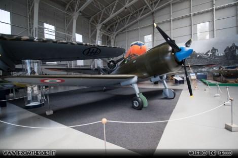 Museo Storico dell'Aeronautica Militare - Reggiane Re.2002 (1)