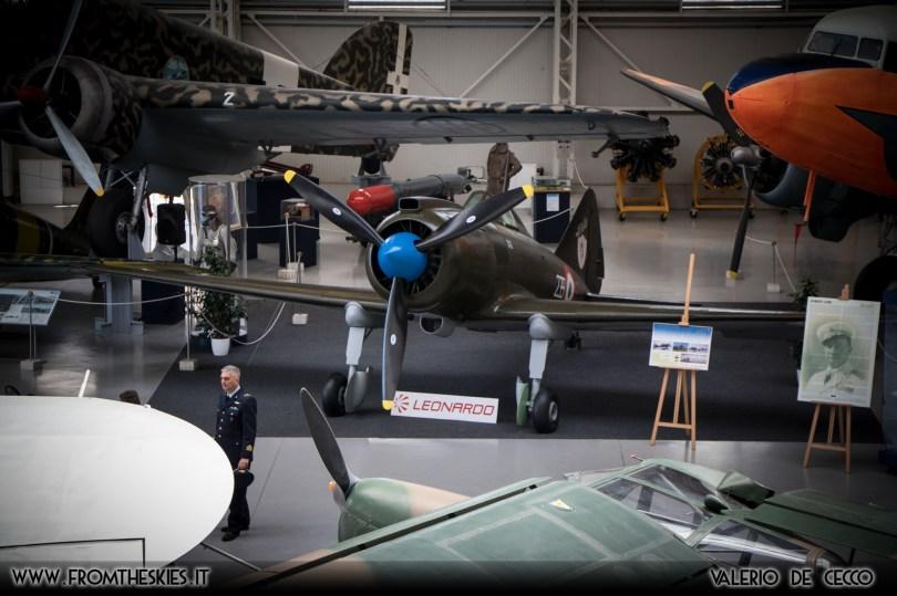 Museo Storico dell'Aeronautica Militare - Reggiane Re.2002 (10)