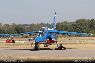 Patrouille de France - Avignon Air Show 2017