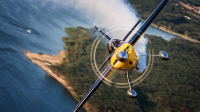 Photo of Dario Costa, primo pilota italiano alla Red Bull Air Race