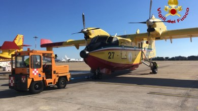 Photo of Roghi in Svezia, decollano due Canadair CL-415 italiani
