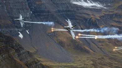 Photo of Axalp 2018: esercitazione di tiro aereo delle Forze Aeree Svizzere