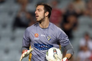 Tyson playing with Gold Coast United.