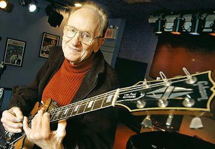 Les Paul sang legenda dengan Gitar ciptaannya