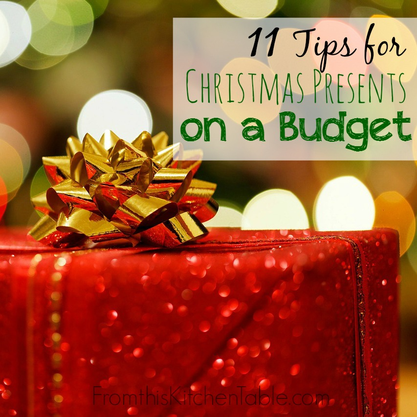 11 tips for buying christmas presents on a tight budget perfect for those of us