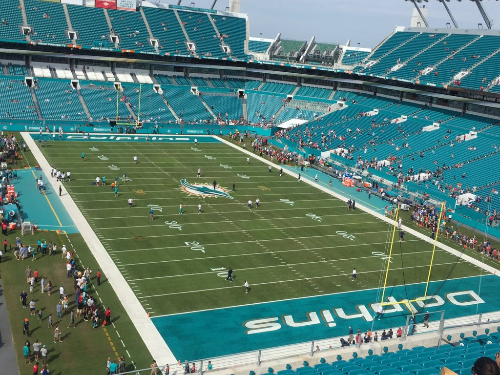 Dolphins Stadium Seating Chart View Wallseatco