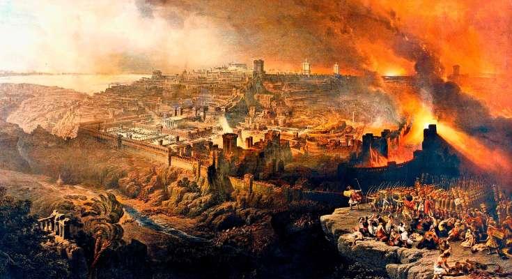 Destruction of Jerusalem fromtpm.com