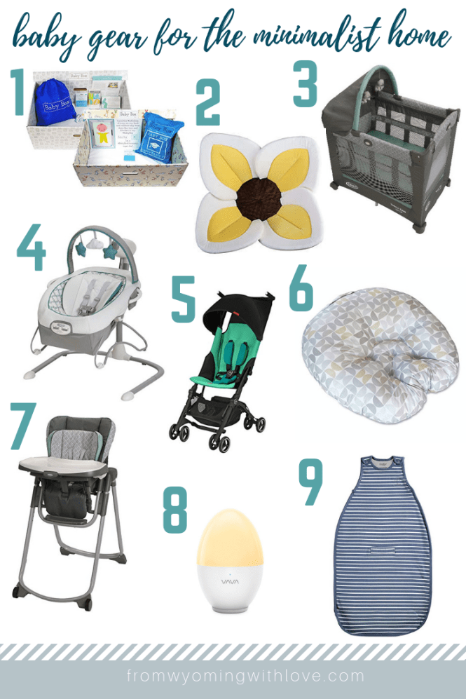 Best Baby Gear for the Minimalist Home