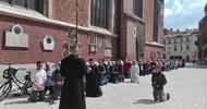 W Krakowie mężczyźni ruszyli do walki duchowej