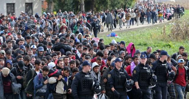 Znalezione obrazy dla zapytania imigranci zdjecia