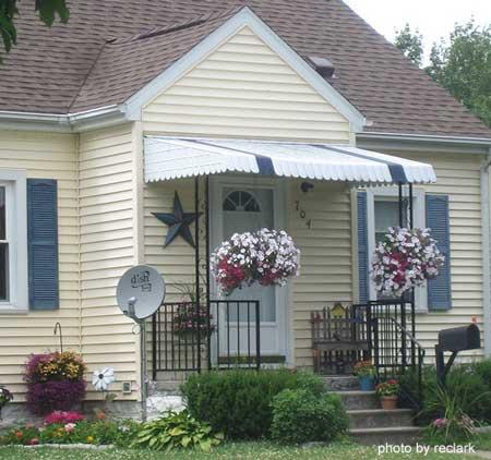 aluminum porch awning metal porch awning