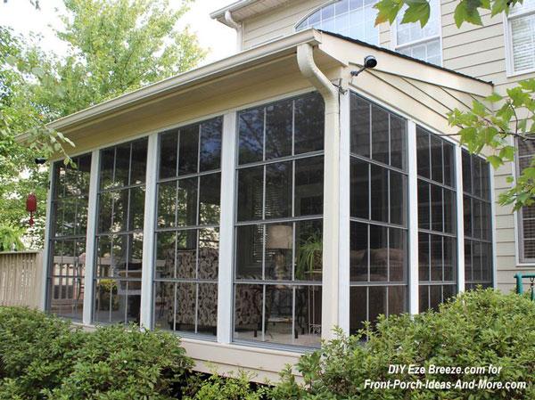 porch windows porch enclosure three