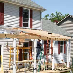 to build a porch build a front porch
