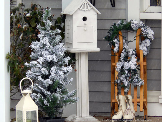 Winter Decorating Ideas for Your Porch   Decorating Ideas for Winter An enchanting winter porch scene indeed