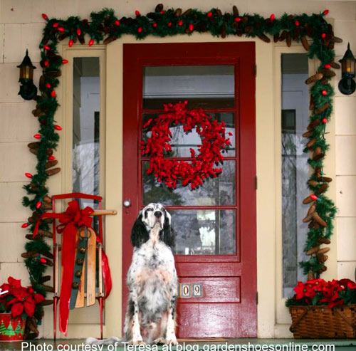 Christmas Decoration Ideas Outside Outdoor Decorating With
