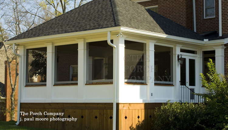 Building A Porch Enclosure Over Your Deck To Create A