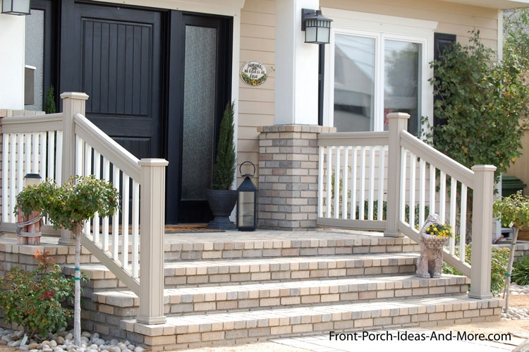 Porch Steps Designs And More | Front Stairs Designs With Landings | 3 Step Stair | Outdoor | Granite | Small Space | Front Yard Stair