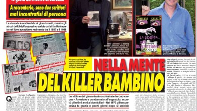 Photo of L'intervista agli autori del thriller sul serial killer bambino