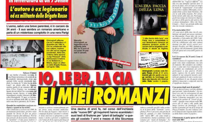 "Photo of Parla Marcello Ghiringhelli: ""Io, le Br, la Cia e i miei romanzi"""
