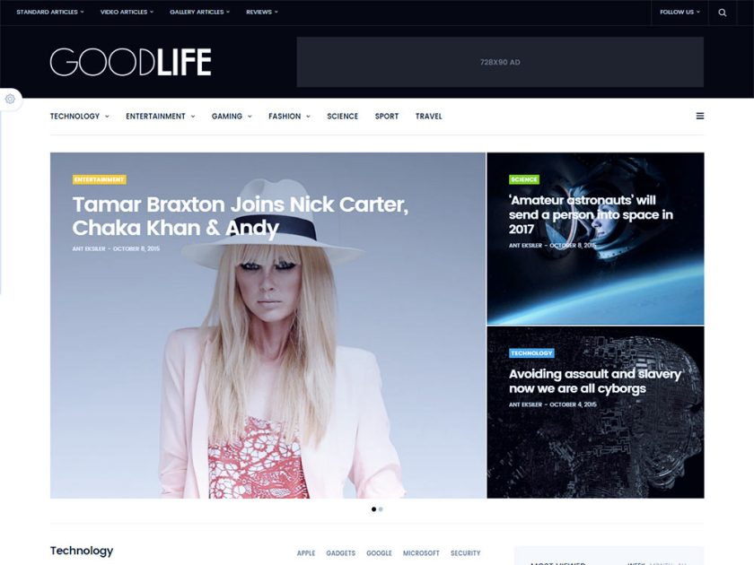 Goodlife Affiliate WordPress Theme by Fuel Themes