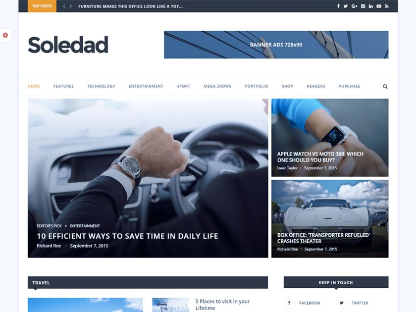 Soledad Affiliate WordPress Theme by Penci Design