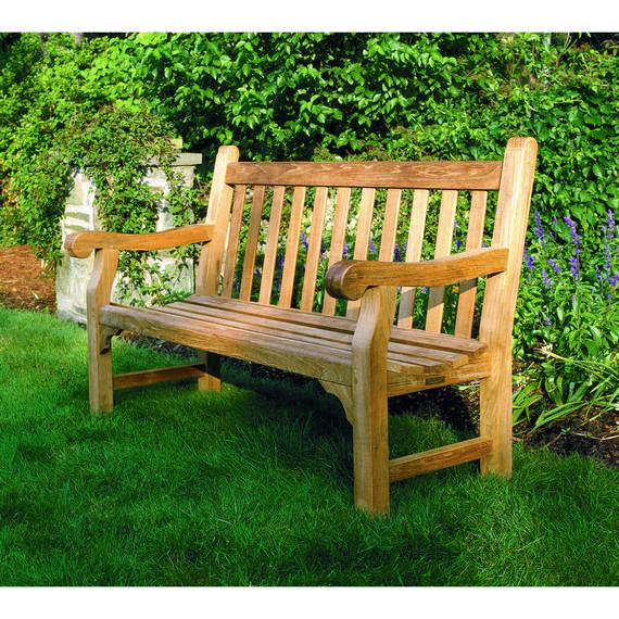Kingsley Bate Hyde Park Teak 6u0027 Bench ...