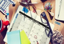 agenda trabajo en casa
