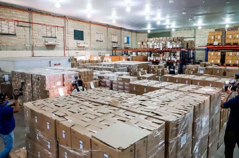 material sanitario Paraguay