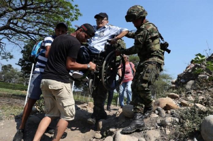 militares trochas frontera