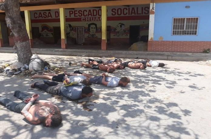 detenciones acusados mercenarios