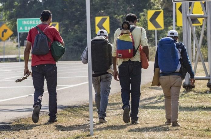 Venezuela migrantes país