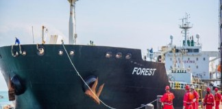 capitanes barcos iranies