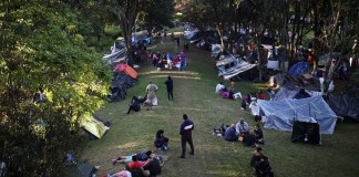 venezolanos campamento