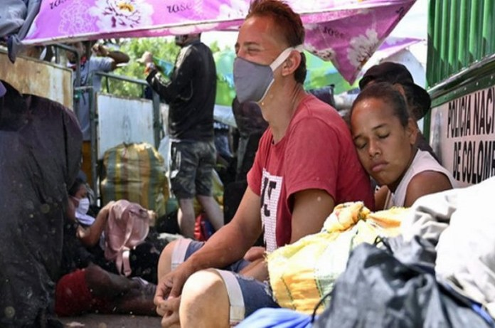 venezolanos campamentos
