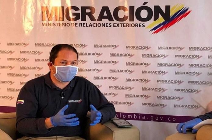 Director Migración Colombia