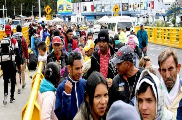migrantes venezolanos refugios