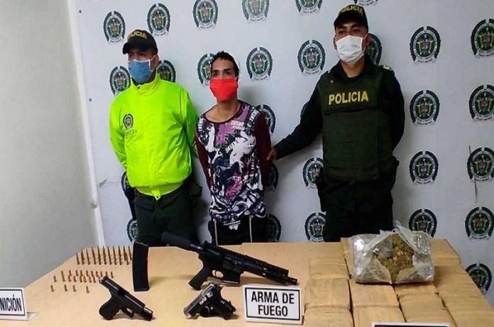 sicario Policía Colombia