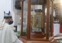 devotos Virgen de La Consolación