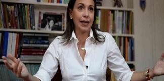 María Corina Machado a Juan Guaidó