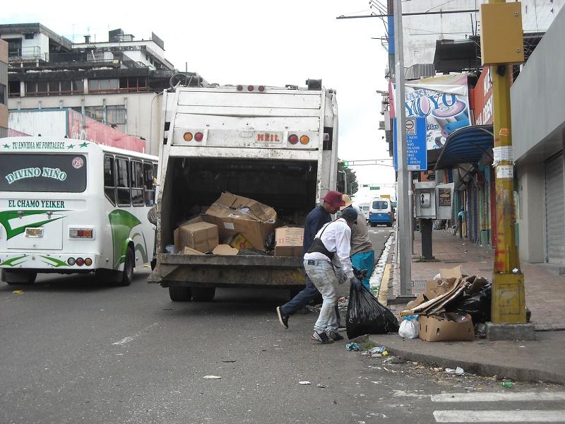 Alcaldía aseo urbano