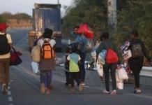caminantes venezolanos realidad