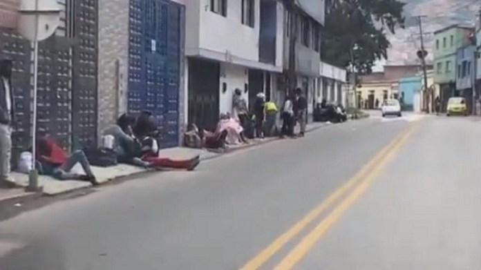 pamplona caminantes venezolanos
