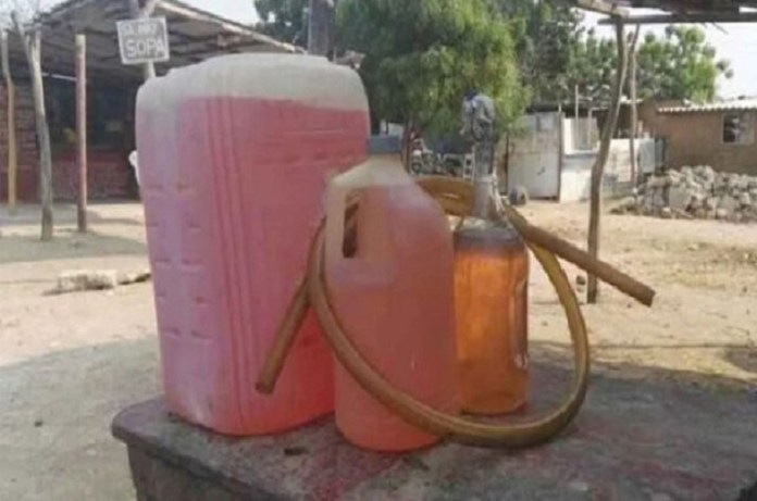 gasolina artesanal