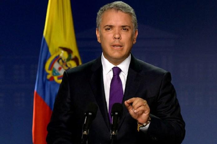 Iván Duque Colombia contagios