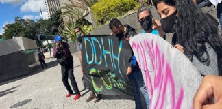amenazas DDHH