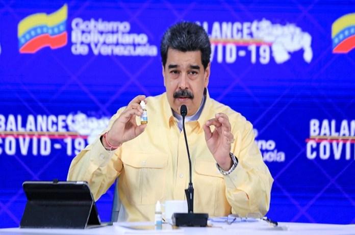 gotas milagrosas Maduro