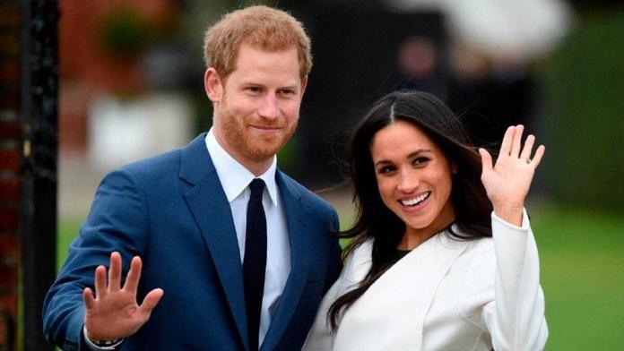 Enrique y Meghan familia real