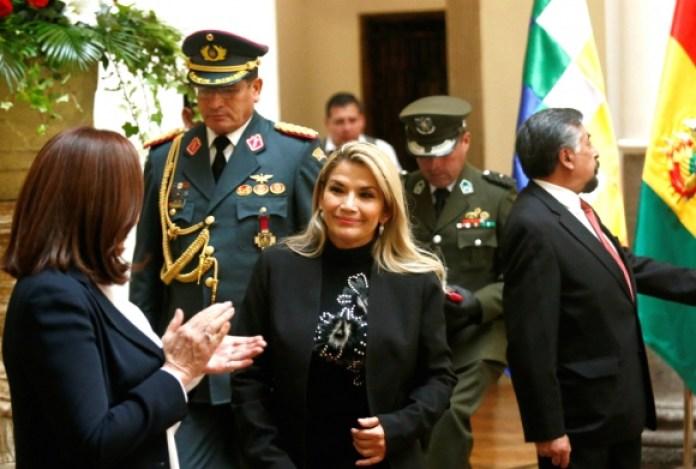 Añez Fiscalía Bolivia