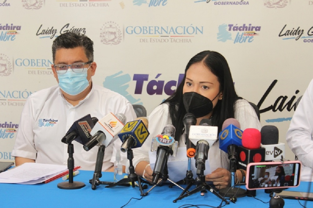 Gobernadora Táchira Bernal